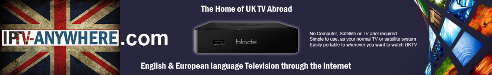 watch uk tv in Spain with IPTV Anywhere